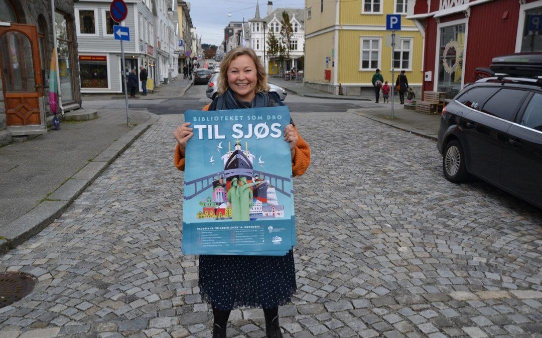 Dra til sjøs med Haugesund Folkebibliotek!